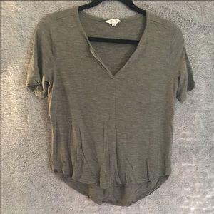 Madewell Olive Green Short Sleeve